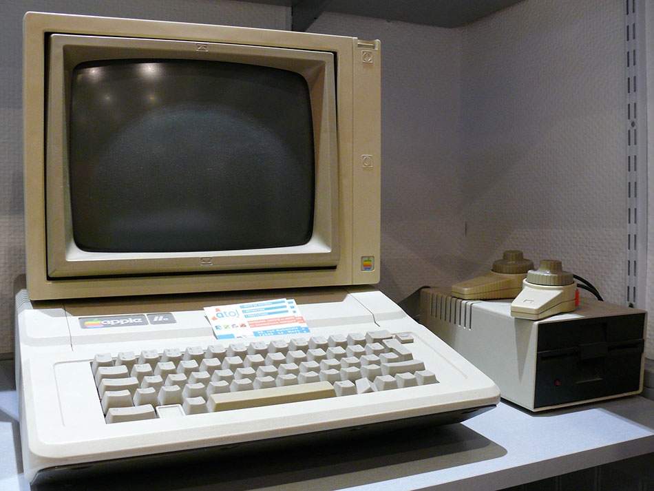 Apple II e